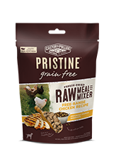 PRISTINE Freeze Dried Raw Meal or Mixer Free-Range Chicken Recipe