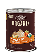 ORGANIX<sup>®</sup> Grain Free Organic Turkey, Carrot & Potato Recipe