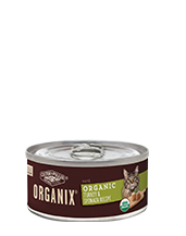 ORGANIX<sup>®</sup> Organic Turkey & Spinach Recipe