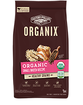 ORGANIX<sup>®</sup> Organic Small Breed Recipe with Healthy Grains
